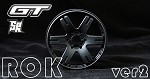 8th GT Wheel 6ix-Pak ROK HARD Black Ver2. SW-B6K