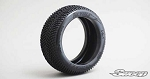 8th Buggy REVOLT  Ultra Soft Silver dot 4pc tire set with Pre-glued options. 310S