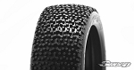 8th Buggy Exagon Soft Red dot  4pc tire set with Pre-glued options. 305R