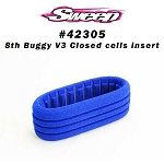 8th Buggy V3 Indigo C9 Cloud9 Closed cells foam 4pc set SW-BI