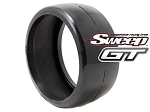 8th GT Belted Slick 50deg Medium 2pc tire set, with Pre Glued options