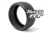 8th GT Belted Treaded 45deg Soft 2pc tire set, with Pre Glued options
