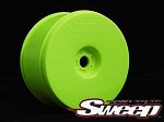 8th Truggy Yellow Wheel 4pc set. SWA-TY4