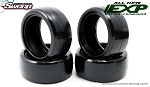 Sweep EXP Minis 36deg Pro compound Rubber tire 4pc set with pre-glued options