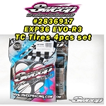 10th TC EXP36 EVO-R3 4pc preglued Tire set (EXP-36R3PG)