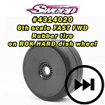 GT2 Drag Racing-Speed runs BELTED preglued wheel option tires set 17mm HEX