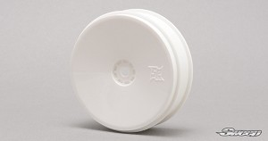 "10th Buggy 2.4"" White 2WD Front 12mm HEX VTR wheel 2pc set 10WF2"