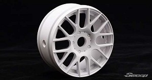 8th GT Wheel EVO16 ROK HARD White. SW-EVO16W