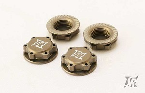 Sweep 17mm 8th scale Light Weight Hard Anodized Wheel Nut (4)