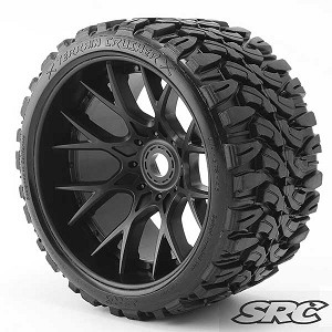 SRC: Swerep Racing Corp Belted Monster truck tires. Terrain Crusher!