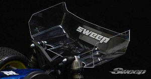"10th Buggy clear 6.5"" wings 2pc set"